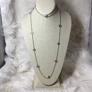 Kendra Scott Devalyn Necklace in Silver